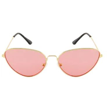 Purple Cat Eye Retro Sunglasses
