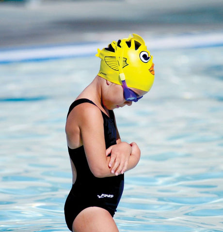 Finis Kids Swim Cap - Angel Fish