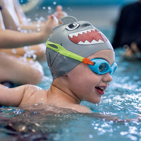 Finis Kids Swim Cap - Shark