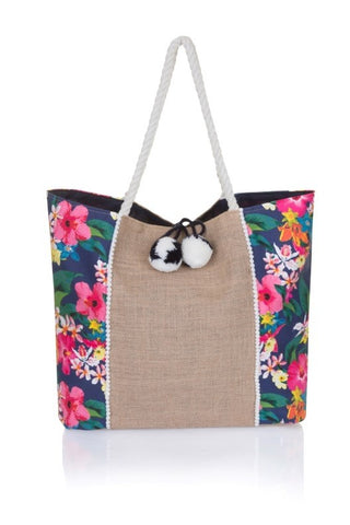 Palm Tree Beach Bag