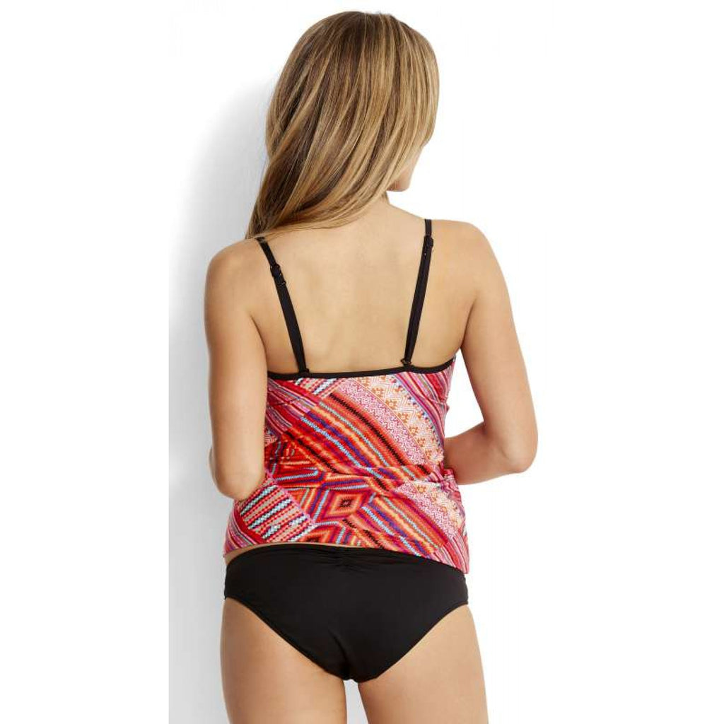 Seafolly Desert Tribe Rouleau Tankini Top