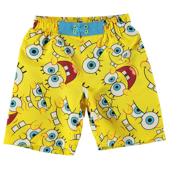 Spongebob Board Shorts (Size 4-5 yrs Only)