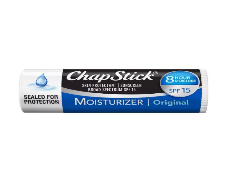 Chapstick Moisturizing Lip Balm - Original with SPF 15 - Pack of 3