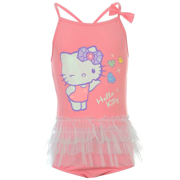 Hello Kitty Swimsuit (Size 2-4 yrs Only)