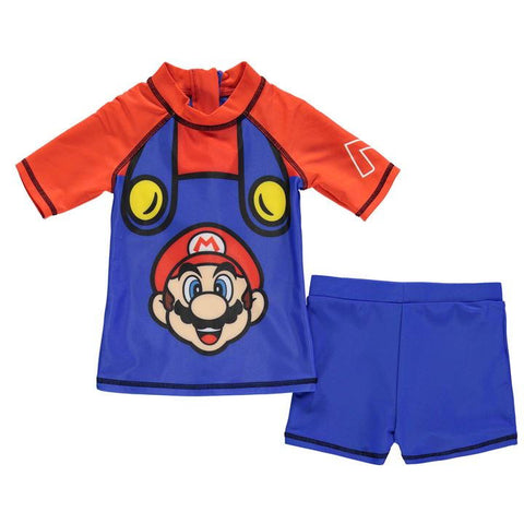 Nintendo 2 Piece Swim Set