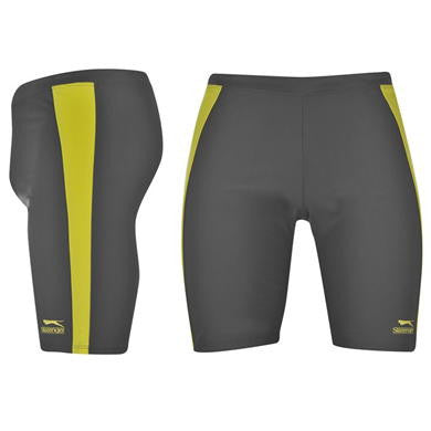 Slazenger Swimming Jammers - Charcoal Bright (Size M Only)