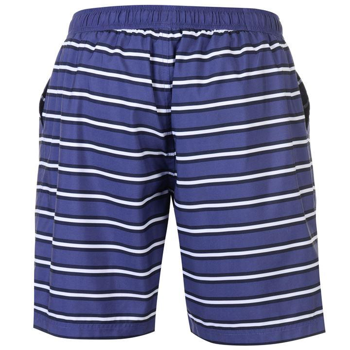 Navy Stripes Swim Shorts (M Only)