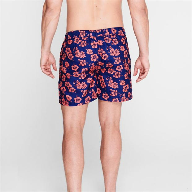 Hot Tuna Hibiscus Print Board Shorts