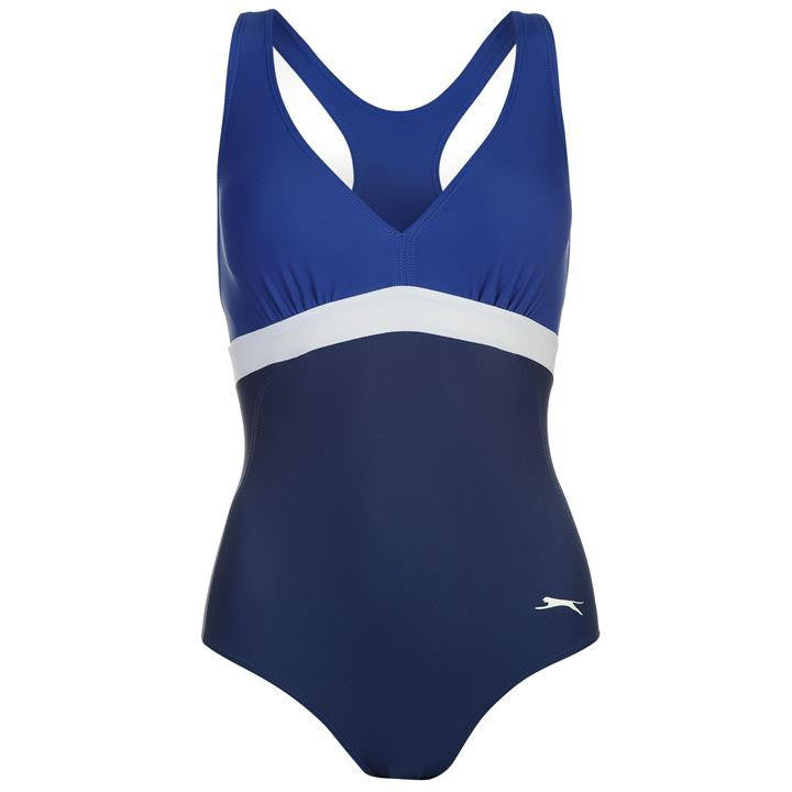 Slazenger Medallist Back Swimsuit