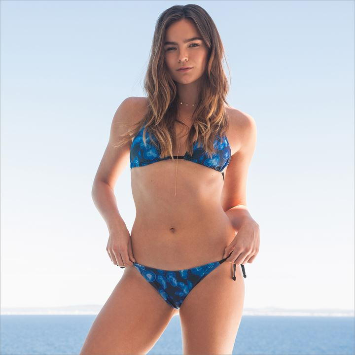 Blue Jelly Fish Bikini Set
