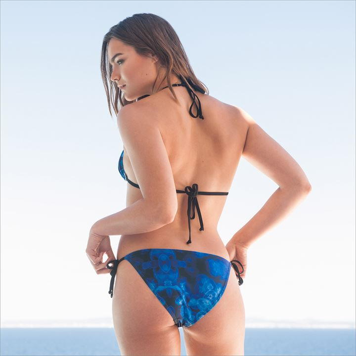 Blue Jelly Fish Bikini Set (8(XS) Only)