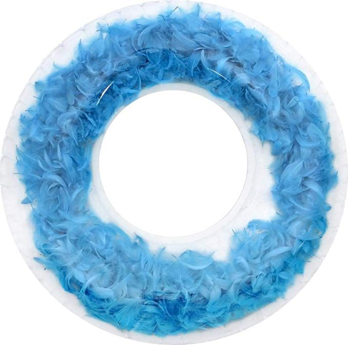 Blue Feather Pool Float 60 cm