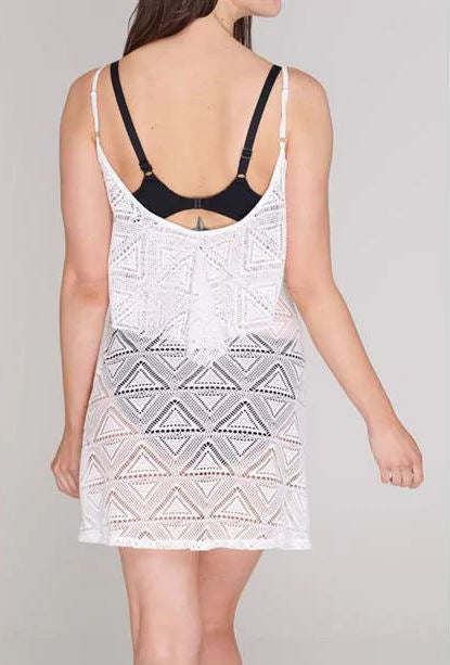SoulCal Mesh Vest Beach Dress