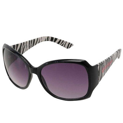 Oversized Zebra Rim Sunglasses
