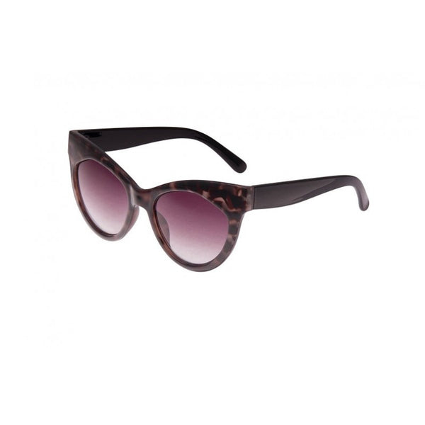 Burn Out Tortoiseshell Cat Eye Sunglasses