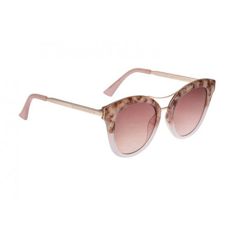 Marble Printed Cat Eye Sunglasses