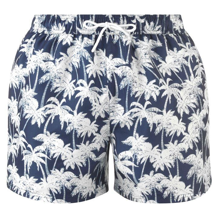 Hot Tuna Palm Print Board Shorts