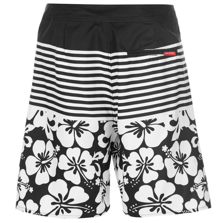 Hot Tuna Floral Stripe Shorts