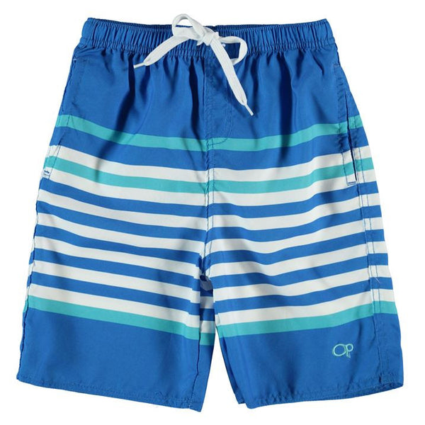 Ocean Pacific Block Stripe Shorts (Size 13 (XLG) Only)