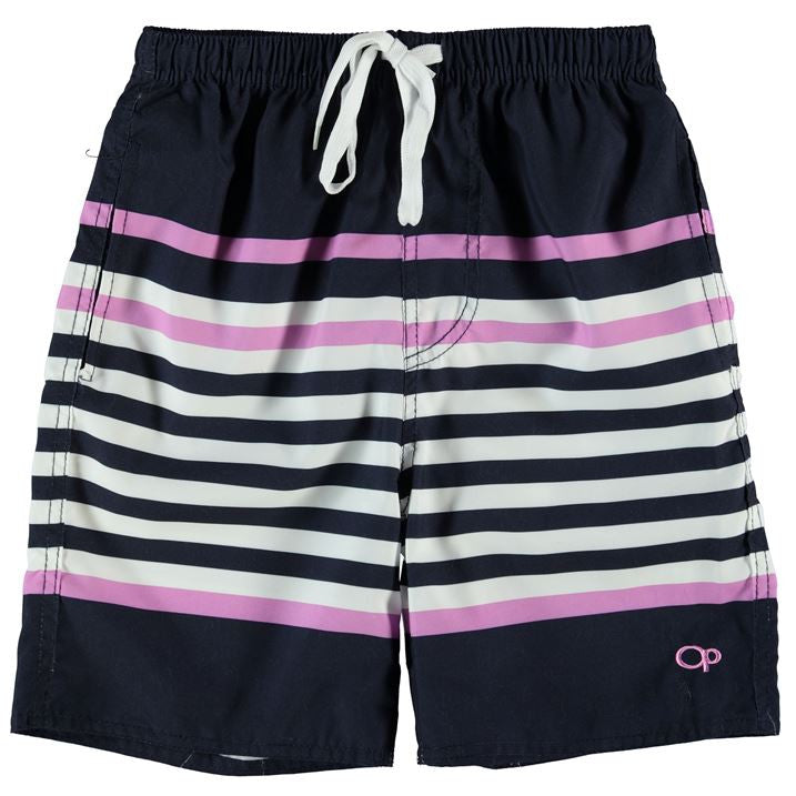 Ocean Pacific Block Stripe Shorts