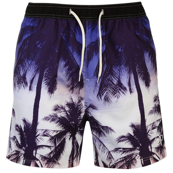 Ocean Pacific PalmTree Swim Shorts (L Only)