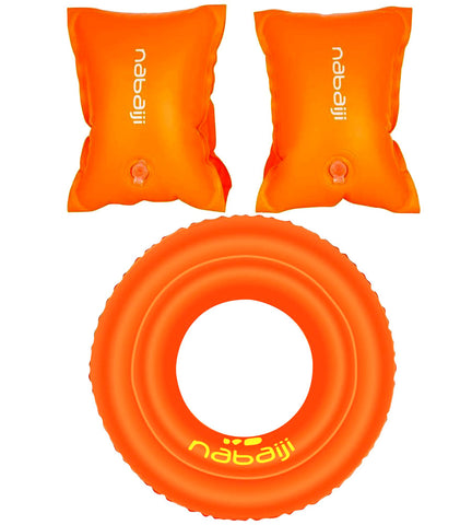 Orange Arm Bands+Ring Set