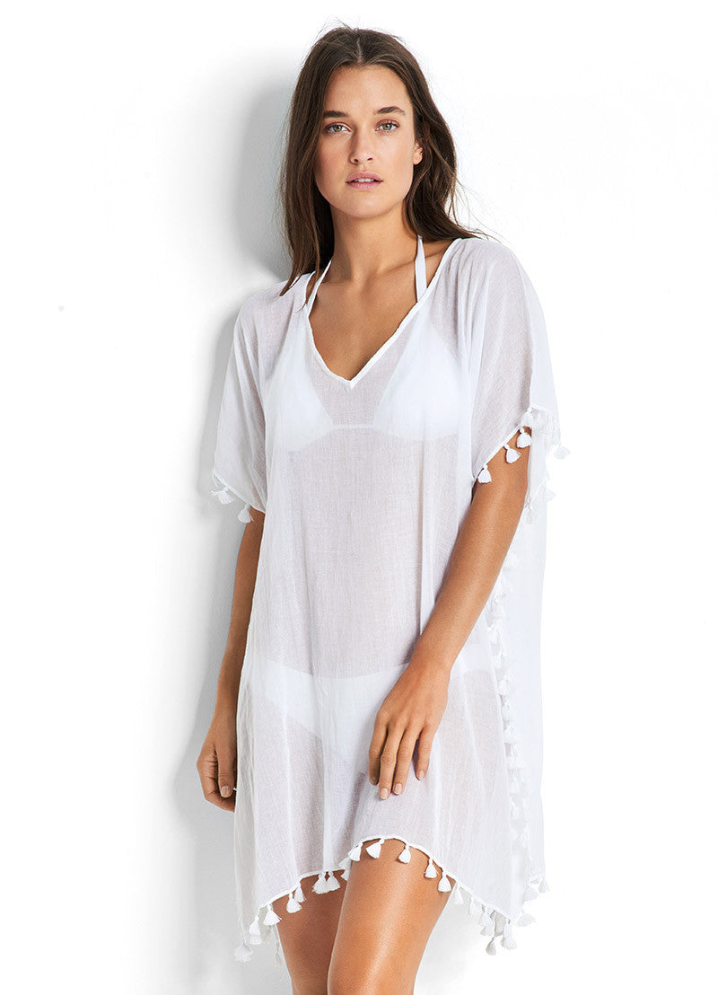 Seafolly Beach Basics Amnesia Kaftan
