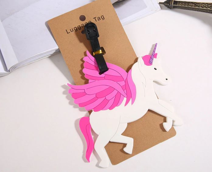 Unicorns Luggage Tags (Set of 3)