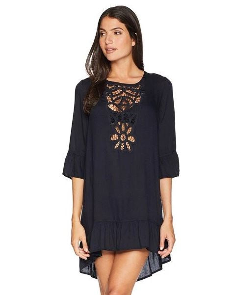 Hollow Out Crochet Trim Cover Up