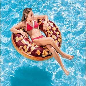 Nutty Chocolate Donut Tube Pool