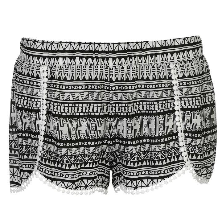 Aztec Bobble Shorts