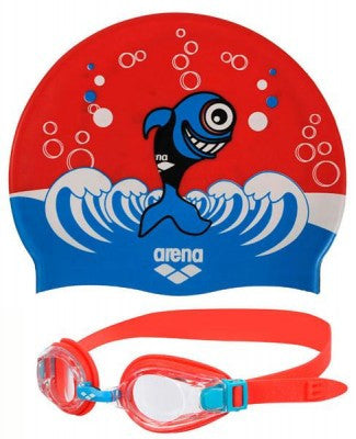 Arena Swim Set - Blue & Red Kids