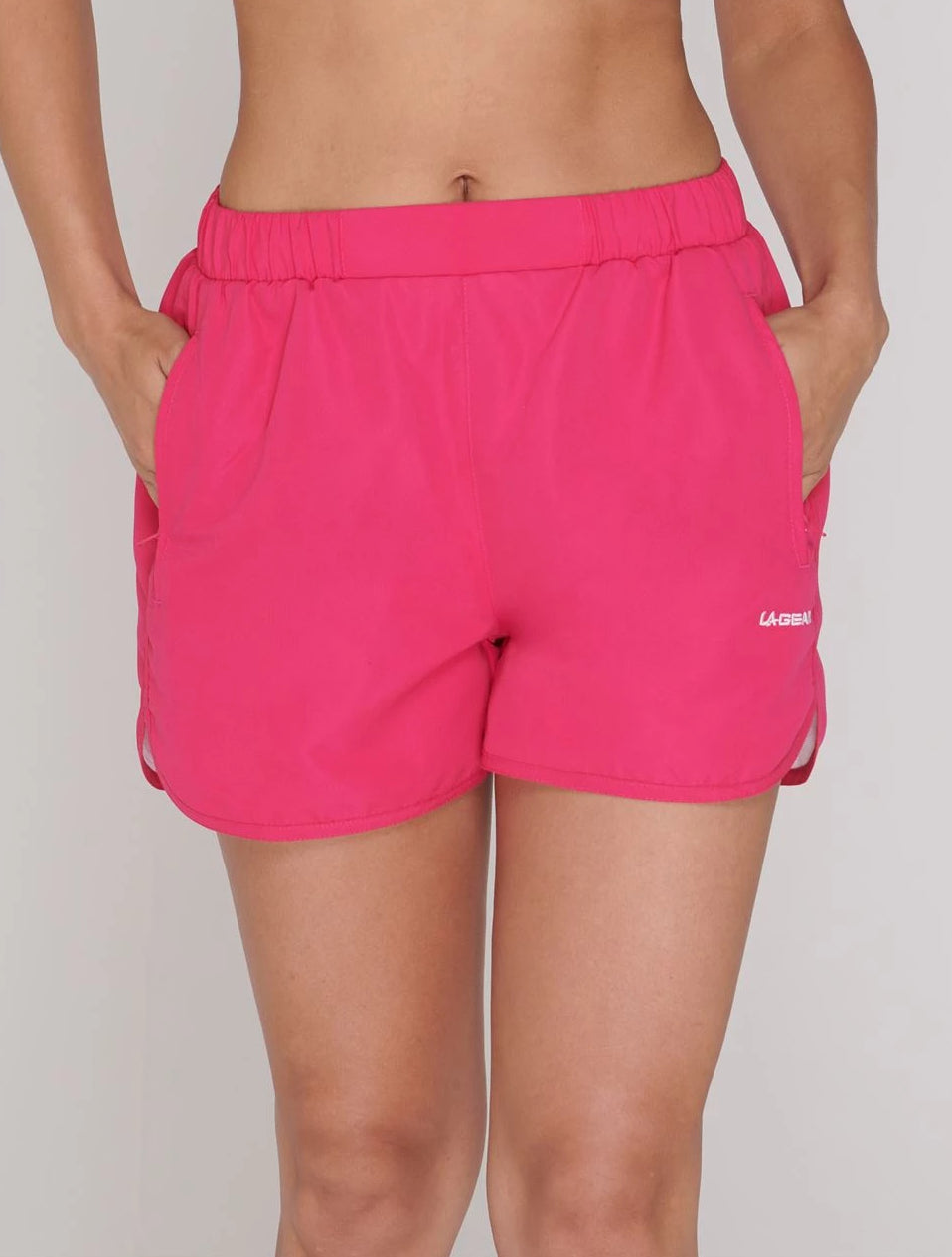 Pink Woven Shorts