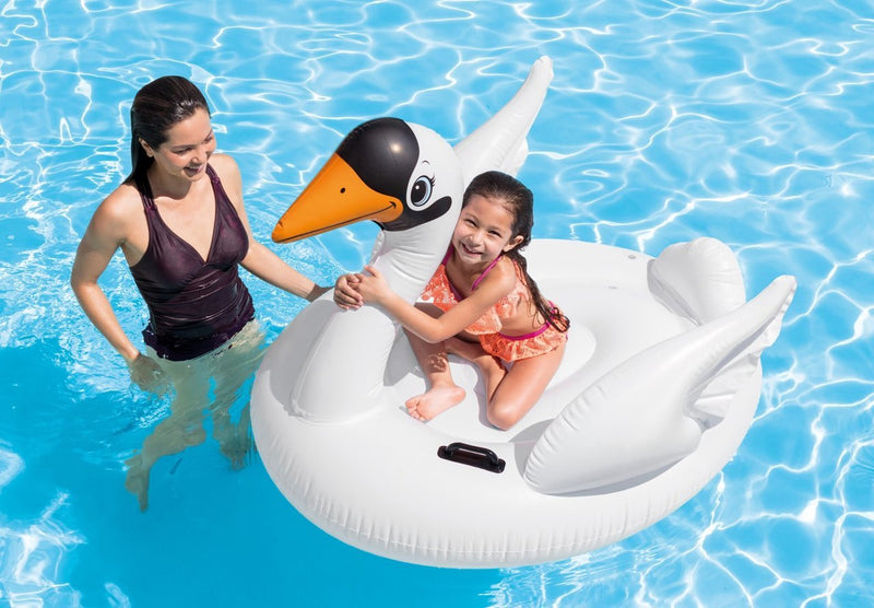 Swan Ride-On Pool Float