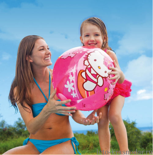Hello Kitty Beach Ball