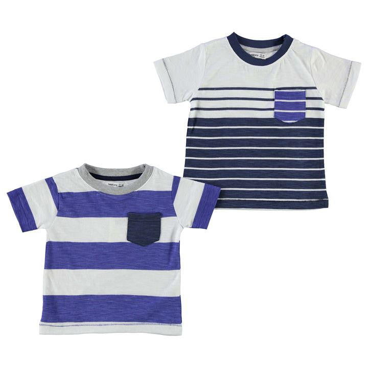 2 Pack Stripe T-Shirts Infant Boys