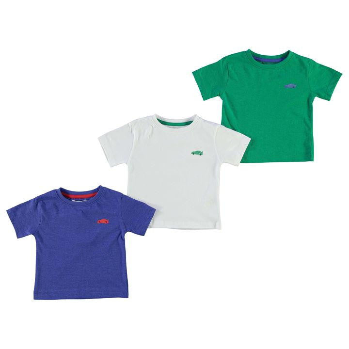 3 Pack T Shirt Infant Boys