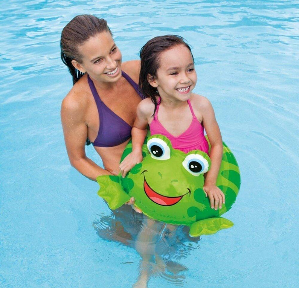 Frog Split Swim Ring
