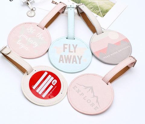 Vacation Luggage Tags ( Pack Of 2 )