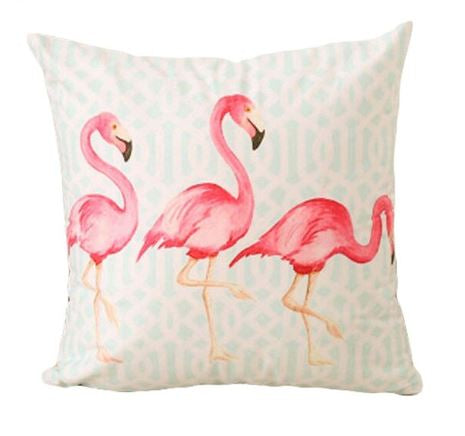 Flamingo Flock Cushion Cover (2 Options)