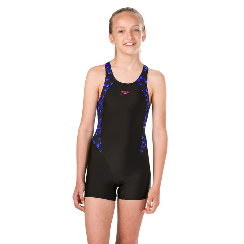 Speedo Geoglow Panel Legsuit
