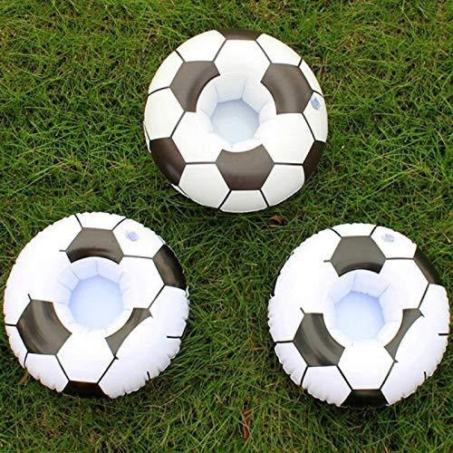 Inflatable Football Drink Holder (Pack of 3)