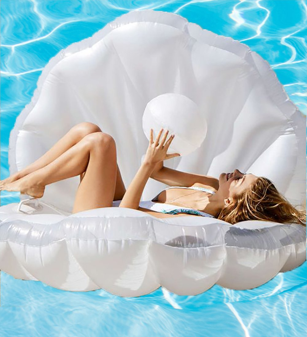 Inflatable Clam Pool Float