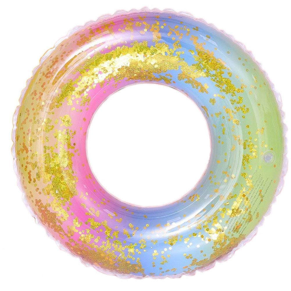 Rainbow Sequin Pool Float 60 cm