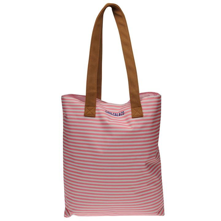 SoulCal Collage Beach Tote