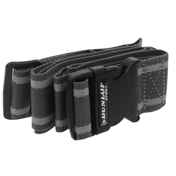 Dunlop Luggage Strap - Charcoal/Grey