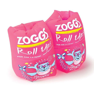 Zoggy Roll Ups (1-6 Yrs) Pink