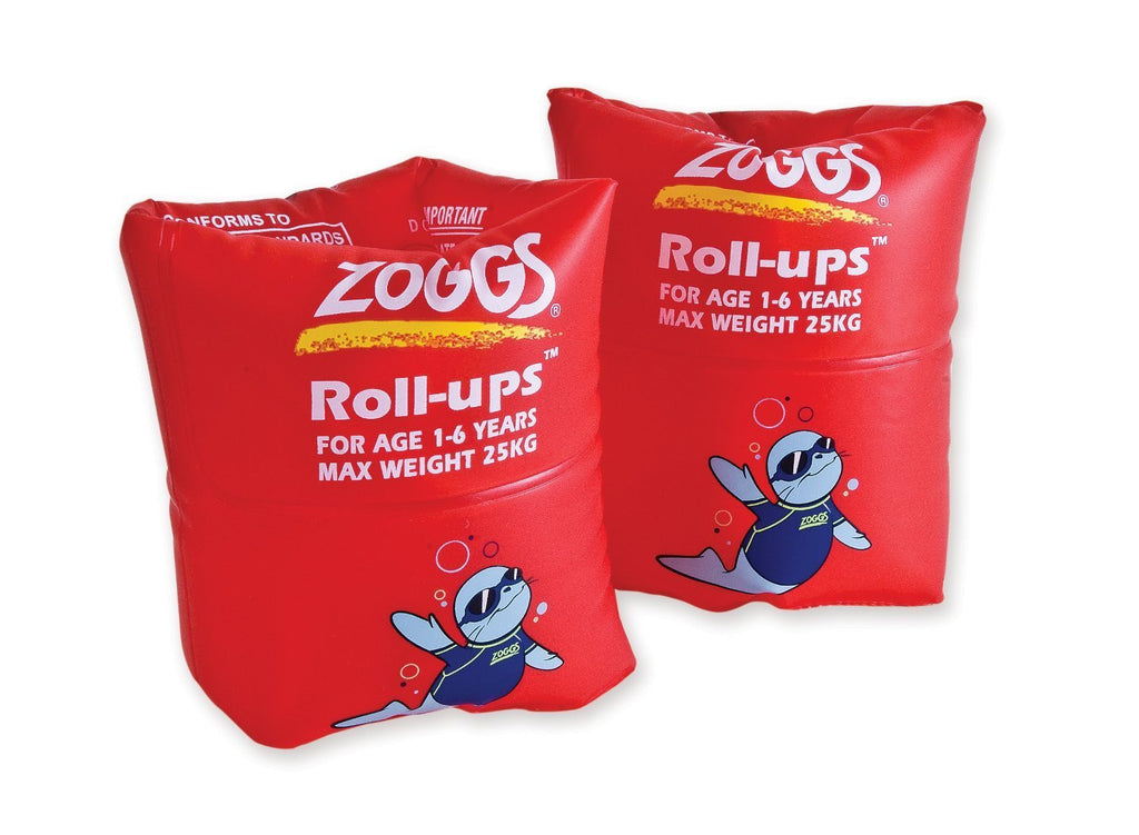 Zoggy Roll Ups (1-6 Yrs) Red