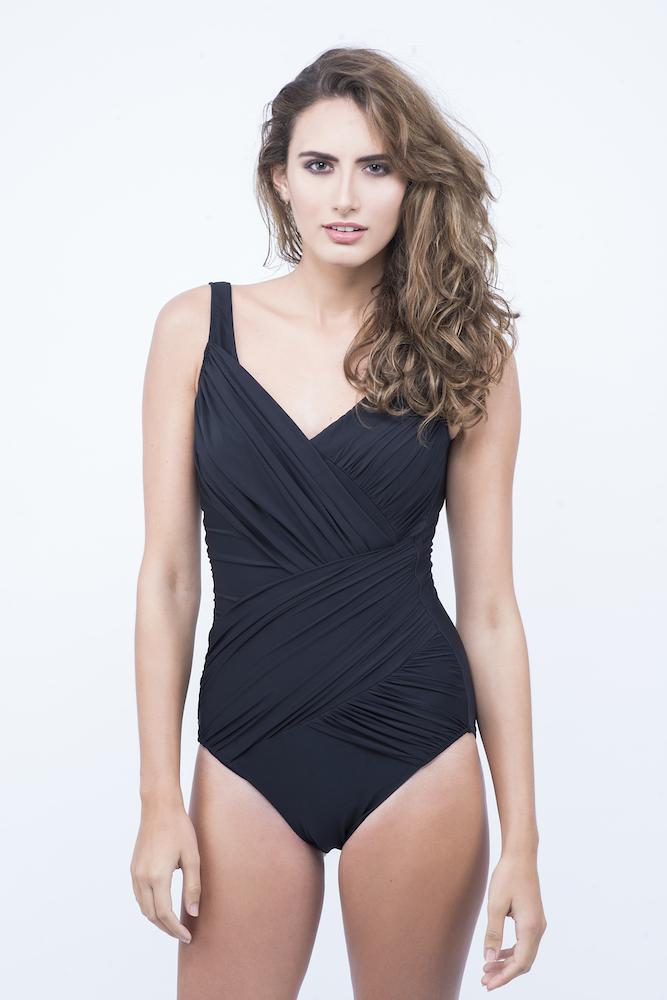 KAI V-NECK SLIMMING SWIMSUIT