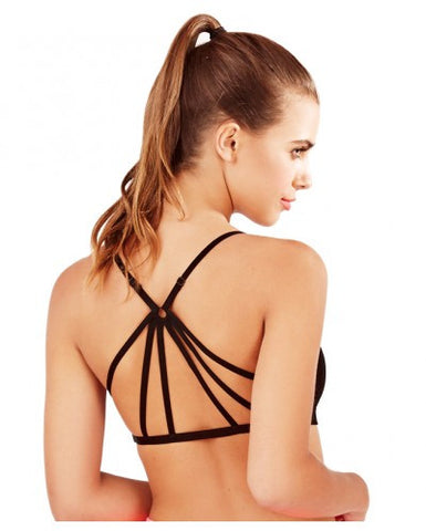 Spirit Back Detail Strap Crop Top (Only S and L)